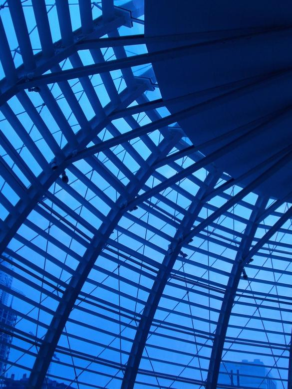 Free Stock Photo of Glass Dome Interior Created by Ivan