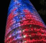 Free Photo - Agbar Tower in Barcelona