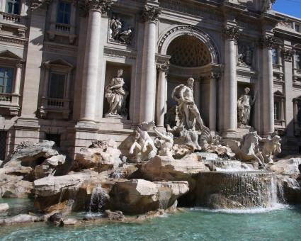 Trevi Fountain - Free Stock Photo