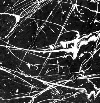 Black and White Paint Splat - Free Stock Photo