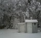 Free Photo - Shed in Snow