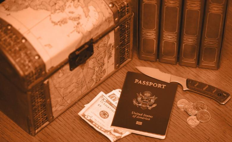 Free Stock Photo of Passport Created by Tim Fitch