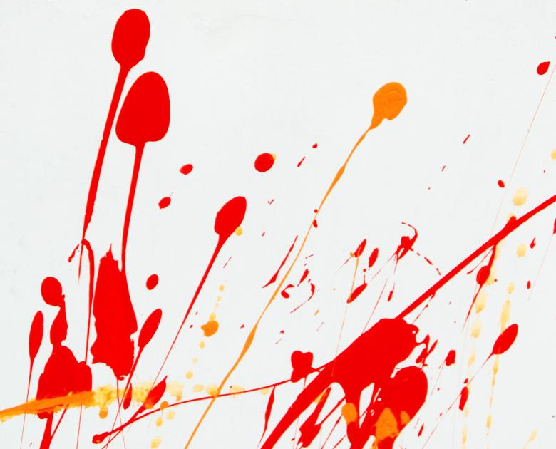 Free Stock Photo of Abstract Paint Splat Created by Ivan