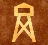 Free Photo - Sepia Grunge Sign - Watch Tower