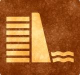 Free Photo - Sepia Grunge Sign - Water Dam