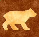 Free Photo - Sepia Grunge Sign - Bear Viewing