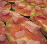 Free Photo - Zucchini, prosciutto and ham