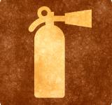 Free Photo - Sepia Grunge Sign - Fire Extinguisher