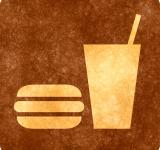 Free Photo - Sepia Grunge Sign - Snack Bar