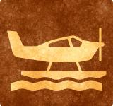 Free Photo - Sepia Grunge Sign - Sea Plane
