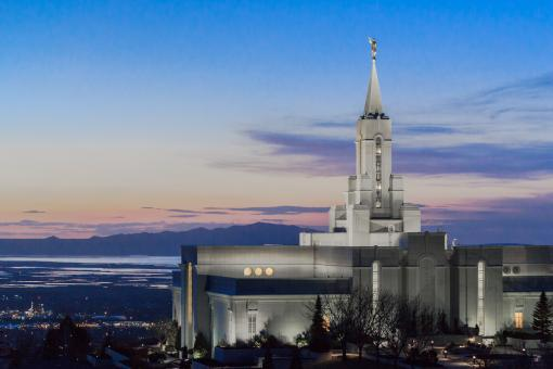 Bountiful Temple Utah - Free Stock Photo