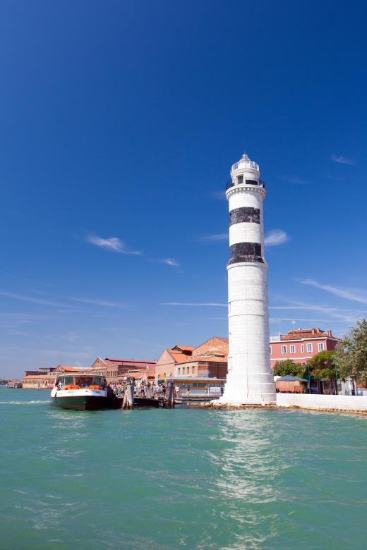 Free Stock Photo of Murano lighthouse Created by Geoffrey Whiteway