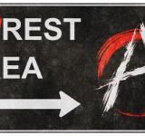 Free Photo - Grunge Road Sign - Unrest Area