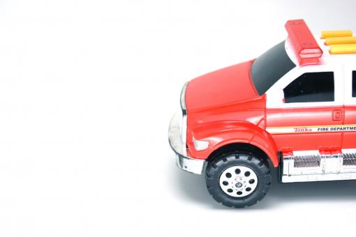 Red fire engine toy - Free Stock Photo