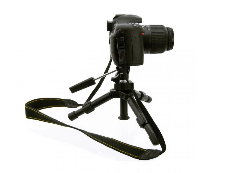 Free Stock Photo of Camera on Tripod Created by 2happy