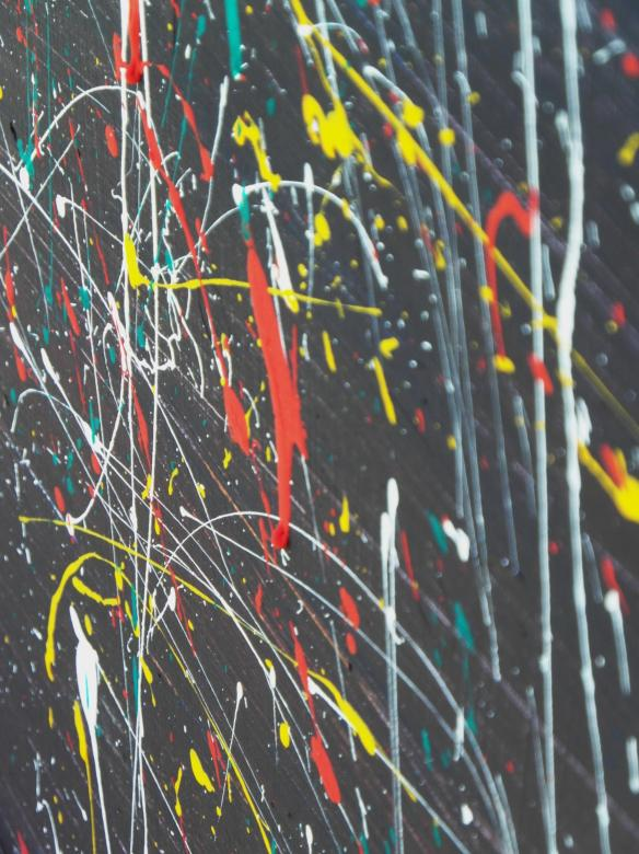 Free Stock Photo of Abstract Paint Dripping Background Created by Ivan