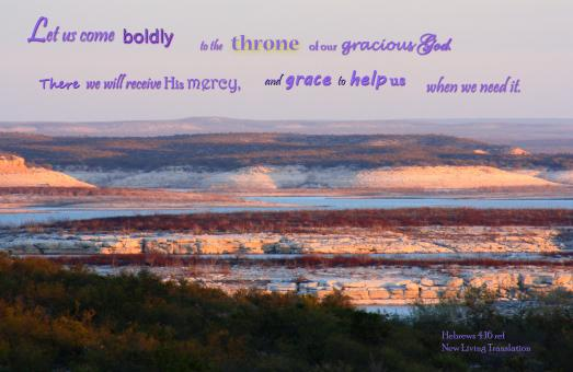 Come Boldly to God's Throne - Free Stock Photo