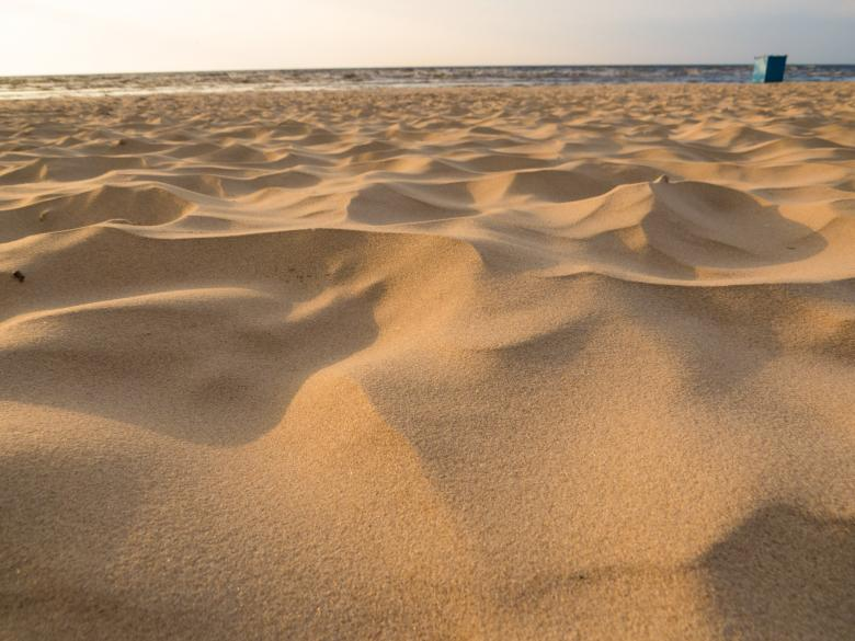 Free Stock Photo of Beach sand Created by Janis Urtans