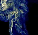 Free Photo - blue smoke on black