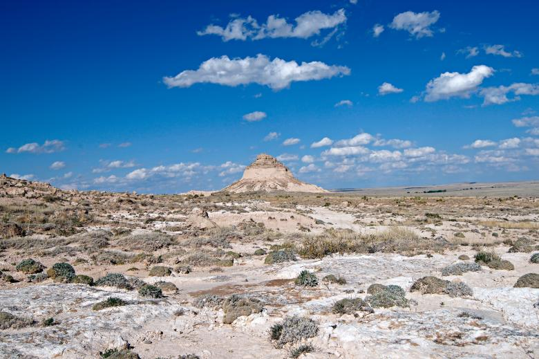 Free Stock Photo of East Pawnee Butte Created by Michael Kirsh