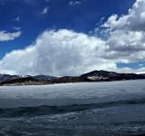 Free Photo - Mountain Clouds over Icy Lake Dillon