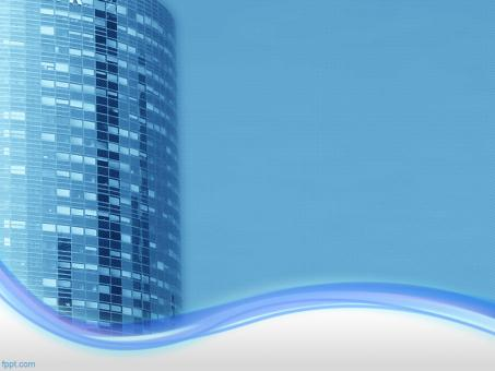 Office Building PowerPoint Background - Free Stock Photo