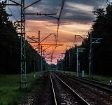 Free Photo - Evening railroad