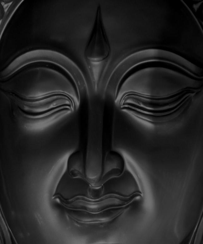Free Stock Photo of Buddha Face Created by Ian L