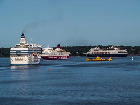 Stockholm archipelago - 3 liners - Free Stock Photo