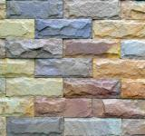 Free Photo - Colored Brick Wall