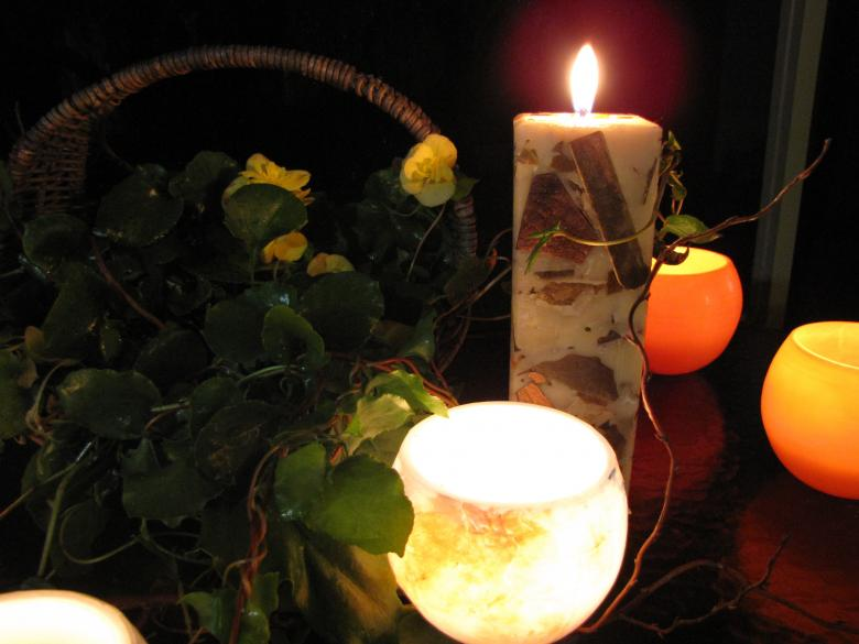 Free Stock Photo of Candle Magic Created by Bernadette Sears