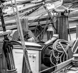 Free Photo - Sailing ship's winch