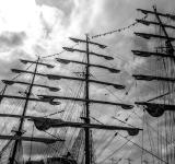 Free Photo - Sailing ship's masts