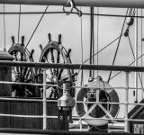 Free Photo - Sailing ship two steering wheels