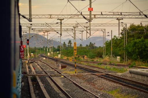 Railway tracks - Free Stock Photo