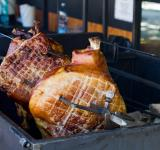 Free Photo - Pork roasting