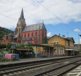 Free Photo - Train station in Oberwesel, Germany
