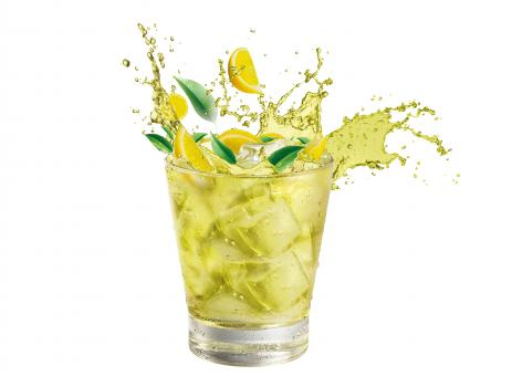 Green tea splash - Free Stock Photo