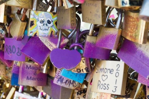 Love Locks - Free Stock Photo
