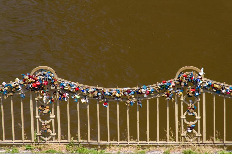 Free Stock Photo of Love Locks Created by Geoffrey Whiteway