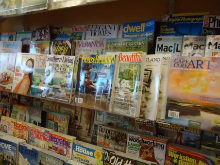 Magazine rack - Free Stock Photo