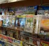 Free Photo - Magazine rack
