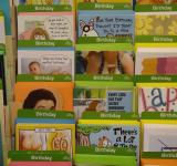 Free Photo - Birthday cards rack