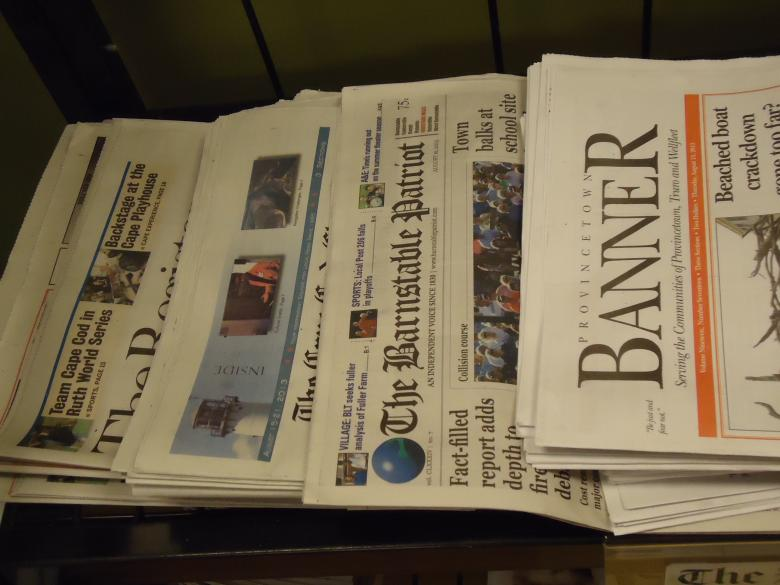 Free Stock Photo of Newspapers for sale Created by Katharine Sparrow