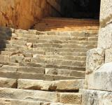 Free Photo - Antique staircase in amphitheater of Myr