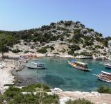 Free Photo - Tourist boats in the small bay of Kekova