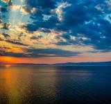 Free Photo - Sunset in Thassos