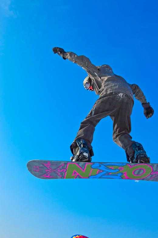 Free Stock Photo of snowboarder  Created by skydie