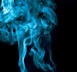 Free Photo - Blue smoke