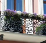 Free Photo - Balcony with flowers